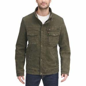 Levi's Men's Olive Green Stretch Twill Jacket NWT